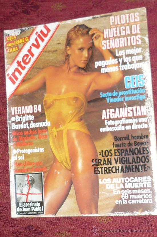 Revista Interviu Brigitte Bardot Desnuda Etc