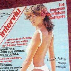 Coleccionismo de Revista Interviú: REVISTA INTERVIU -1977 URSULA ANDRESS ETC. Lote 18099912