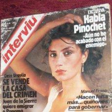 Coleccionismo de Revista Interviú: REVISTA INTERVIU ANGELA MOLINA. Lote 18174654