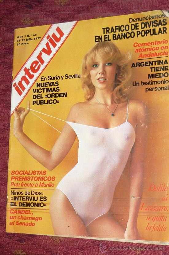 REVISTA INTERVIU 1977 (Coleccionismo - Revistas y Periódicos Modernos (a partir de 1.940) - Revista Interviú)