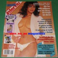 Coleccionismo de Revista Interviú: INTERVIU #743/1990 JACKIE ST. CLAIR~MADONNA & PRINCE POSTER GIGANTE~CARMEN GREY~JESULIN DE UBRIQUE. Lote 56697185