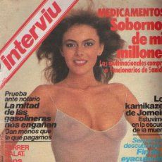 Coleccionismo de Revista Interviú: INTERVIU : AÑO 1984 N 404. Lote 136500700