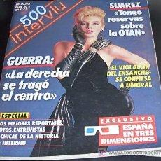 Coleccionismo de Revista Interviú: INTERVIU -Nº ESPECIAL 500 - 17 DICIEMBRE 1985. Lote 26534072