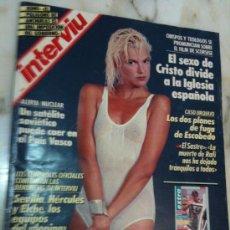 Coleccionismo de Revista Interviú: REVISTA-INTERVIU-AÑO 1988-Nº641-EVA COBO AL DESNUDO. Lote 26427463