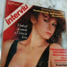 Coleccionismo de Revista Interviú: REVISTA-INTERVIU-AÑO 2-1977-Nº46-VICTORIA VERA. Lote 27585413