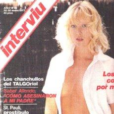 Coleccionismo de Revista Interviú: INTERVIU - 1977 Nº 36 - JOSEP PALLACH - ISABEL ALLENDE - TXIKI . Lote 22408105
