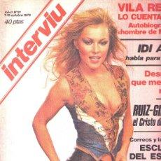 Coleccionismo de Revista Interviú: INTERVIU - 1976 Nº 21 - LENNY - RICARDO SANZ - EL MOLINO - IDI AMIN - VILA REYES - RUIZ-GIMENEZ. Lote 22422810