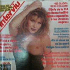 Coleccionismo de Revista Interviú: INTERVIU-Nº765 1-ENERO-1991-VIRNA ANDERSON,DESNUDA,EXTRA 1990,12 CHICAS,TEMAS Y FOTOS. Lote 26265120