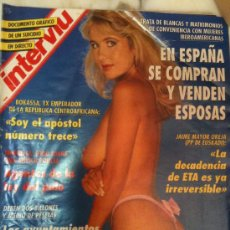 Coleccionismo de Revista Interviú: INTERVIU-Nº909 30-SEPTIEMBRE-1993,LOUISE PAYNE Y SUSANA ROBINSON DESNUDAS. Lote 26364007