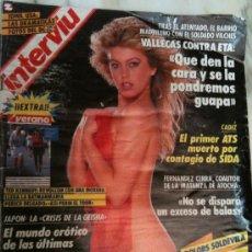 Coleccionismo de Revista Interviú: INTERVIU-Nº690 1-AGOSTO-1989-DOLORS SOLDEVILA-LA HIJA QUE HUYÓ CON LA-DULCE NEUS-EN TOP LESS. Lote 26427456