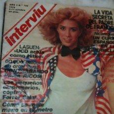 Coleccionismo de Revista Interviú: INTERVIU-AÑO3 Nº125-5-11 OCTUBRE-1978-SANDRA ALBERTI DESNUDA-VIDA SECRETA DEL PADRE DE FRANCO-ATOCHA. Lote 25032865