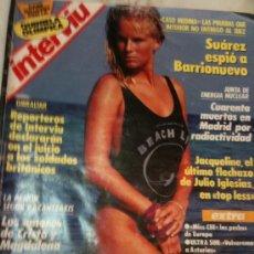 Coleccionismo de Revista Interviú: INTERVIU- Nº645 20-SEPTIEMBRE-1988-JACQUELINE FLECHAZO DE J.IGLESIAS-ROCIO JURADO-RAFI ESCOBEDO . Lote 25034122