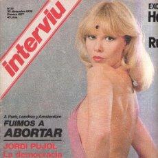 Coleccionismo de Revista Interviú: INTERVIU - N 33 - 1976 - JORDI PUJOL - ALCAZAR - EL PODER DE LOS ORIOL - EL RUBIO . Lote 25732433