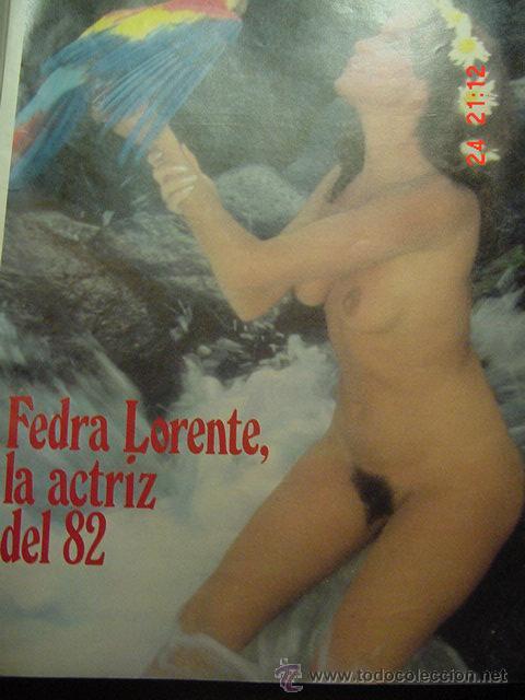 Coleccionismo de Revista Interviú: Fedra Lorente - Foto 2 - 26227772