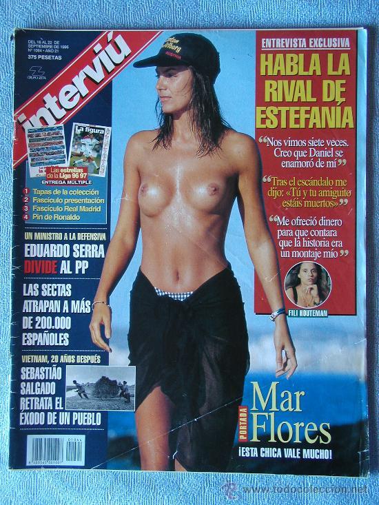 INTERVIU SEPTIEMBRE 1996, MAR FLORES (Coleccionismo - Revistas y Periódicos Modernos (a partir de 1.940) - Revista Interviú)