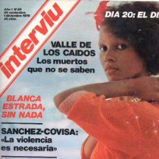 Coleccionismo de Revista Interviú: REVISTA INTERVIU Nº28 25 NOVIEMBRE 1 DICIEMBRE 1976. Lote 28280733