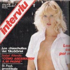 Coleccionismo de Revista Interviú: REVISTA INTERVIU Nº 36 20-26 ENERO 1977. Lote 28280887