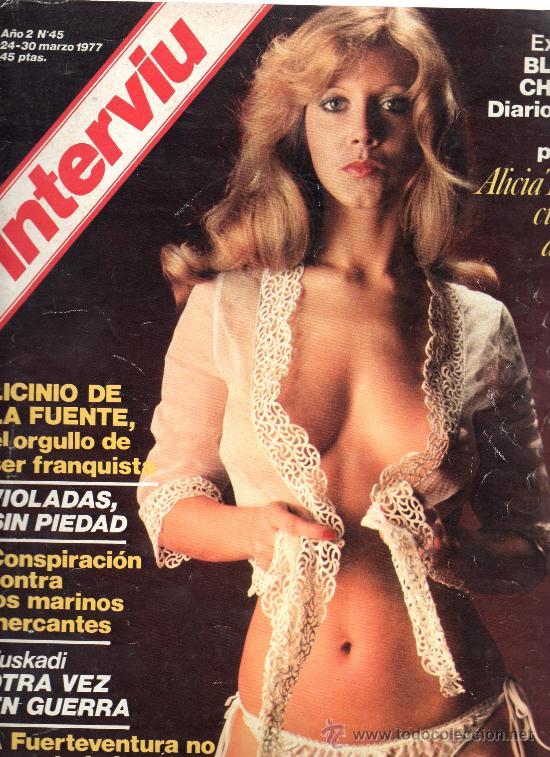 REVISTA INTERVIU Nº 45 24-30 MARZO 1977 (Coleccionismo - Revistas y Periódicos Modernos (a partir de 1.940) - Revista Interviú)