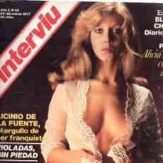 Coleccionismo de Revista Interviú: REVISTA INTERVIU Nº 45 24-30 MARZO 1977. Lote 28281060