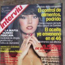 Coleccionismo de Revista Interviú: INTERVIU 280 SEPT 1981 BIBI ANDERSEN , EL CORDOBES,EL TEJERAZO Y MUCHO MAS. Lote 29755377