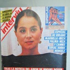 Coleccionismo de Revista Interviú: INTERVIU 479 JULIO 1985 ISABEL PREYSLER , HIROSHIMA, DOCTOR MENGALE , LA ULTIMA FUGA Y MUCHO MAS. Lote 29841426