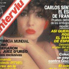 Coleccionismo de Revista Interviú: REVISTA INTERVIU N UM 23456 ENERO 1981. Lote 30395989