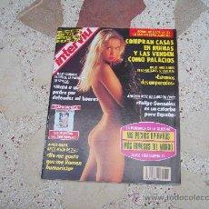 Coleccionismo de Revista Interviú: INTERVIU Nº 820, FALTA SUPLEMENTO CINE EROTICO, IRIS, LA SILICONA, MIEDO EN EL CUERPO. Lote 294581198