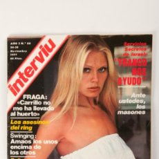 Revista Interviu Nº80, Miss Cataluña en portada, Año 1977