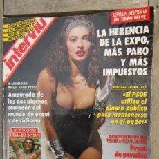 Coleccionismo de Revista Interviú: INTERVIU N.854 SEPTIEMBRE 1992 , ANGELA MOLINA , MAJAS DESNUDA Y PINTADA , ETC. Lote 31109799