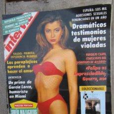 Coleccionismo de Revista Interviú: INTERVIU 850 AGOSTO 1992 , REYNAS DEL DESTAPE BARBARA REY , GARCIA LORCA , SOFIA MAZAGATOS , . Lote 31158101