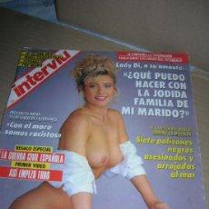 Coleccionismo de Revista Interviú: INTERVIU, Nº 868. AÑO 1992. LADY DI. LA GUERRA CIVIL ESPAÑOLA. CAPITULO 1. ALMUDENA SANTAOLALLA.. Lote 31241200