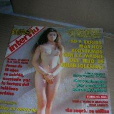 Coleccionismo de Revista Interviú: INTERVIU, Nº 873. AÑO 1993. RIE MIYAZAWA, DESNUDA. EDITE SANTOS. CAMILLA PARKER-CARLOS DE INGLATERRA. Lote 95611251