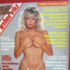 Coleccionismo de Revista Interviú: INTERVIU 810 NOVIENBRE 1991 , LAS MEJORES MODELOS SE DESTAPAN , , ETC. Lote 31300748