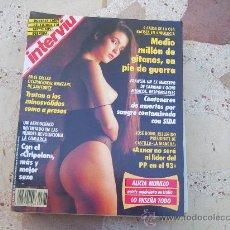 Coleccionismo de Revista Interviú: INTERVIU Nº 787, ALICIA MURILLO, ROBERTA ACTRIZ PORNO, VICTOR MENDEZ TORERO. Lote 294581058