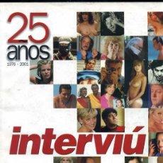 Coleccionismo de Revista Interviú: INTERVÍU 25 AÑOS, 396 PÁGINAS. Lote 31733313