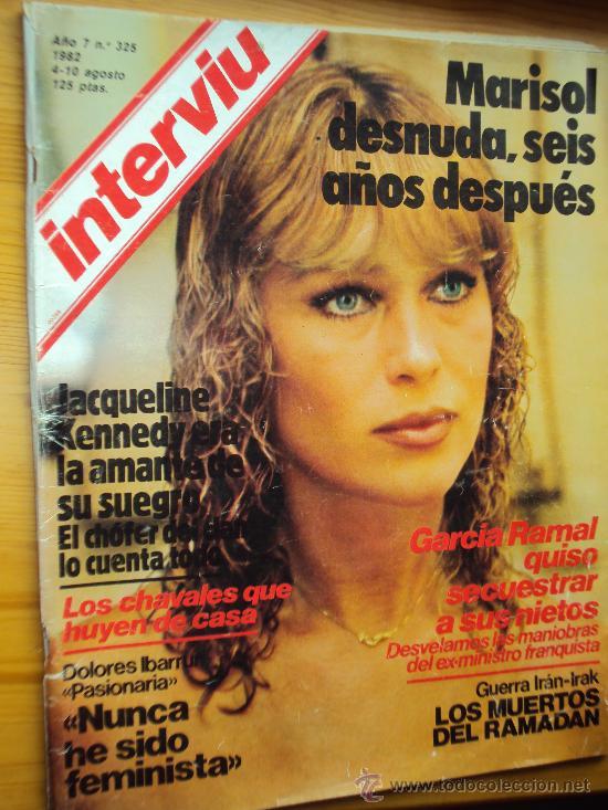MARISOL. INTERVIU . DESNUDA 6 AÑOS DESPUES. (Coleccionismo - Revistas y Periódicos Modernos (a partir de 1.940) - Revista Interviú)