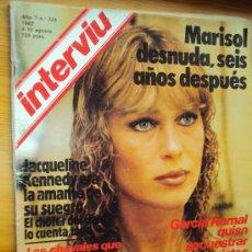 Coleccionismo de Revista Interviú: MARISOL. INTERVIU . DESNUDA 6 AÑOS DESPUES.. Lote 175867077