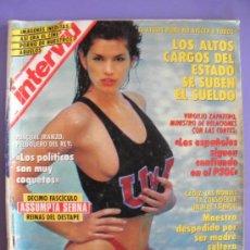 Coleccionismo de Revista Interviú: REVISTA INTERVIÚ Nº 858 AÑO 1992 CINDY CRAWFORD. Lote 31812984