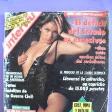 Coleccionismo de Revista Interviú: REVISTA INTERVIÚ Nº 846 AÑO 1992 CHICAS DE LA 5ª MARCHA. Lote 31813109