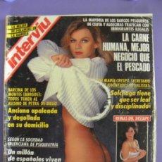 Revista Interviú nº 860 año 1992 Charo López