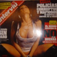 Coleccionismo de Revista Interviú: INTERVIU Nº1708 AÑO 2009 LA ESTRIPER DE LA CARCEL DE PICASSENT DANIELA,LO Q VIERON LOS PRESOS. Lote 136506201