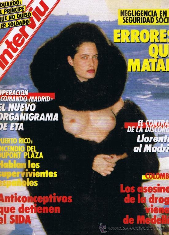REVISTA INTERVIU - Nº 558 - HELMUT NEWTON - MATIAS PRATS - MEDELLÍN - COMANDO MADRID (Coleccionismo - Revistas y Periódicos Modernos (a partir de 1.940) - Revista Interviú)
