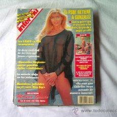 Collectionnisme de Magazine Interviú: INTERVIU Nº 1003, MALENA GRACIA, LOLA FLORES, LAS CHICAS DE CRUYFF SE DESTAPAN. CARLOS VIVES ,EMBAJA. Lote 241002285