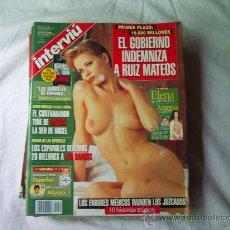 Collection Magazine Interviú - INTERVIU Nº 1071 ELENA SEMIONOVA, ARANTXA VAZQUEZ, ORGIA DE ANTORCHAS - 32210160