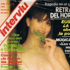 Revista Interviu Nº 114 Muntadas Mary Paz Pondal Mugica Euskadi Kempes Carcasona