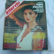 Coleccionismo de Revista Interviú: INTERVIU Nº 380, ANGELA MOLINA DESNUDA, NADIUSKA, AL BANO, HABLA PINOCHET. Lote 263068545