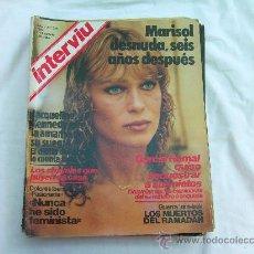 Coleccionismo de Revista Interviú: INTERVIU Nº 325, MARISOL DESNUDA, DOLORES IBARRURI, GUERRA IRAN - IRAK. Lote 112289939