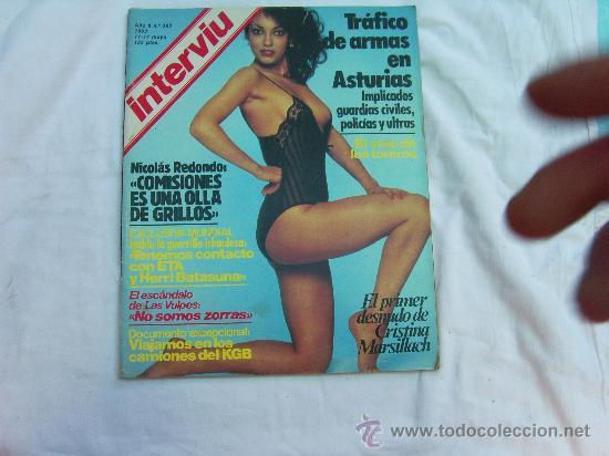 Interviu Nº 365 Cristina Marsillach Desnuda El Sexo De Los Toreros