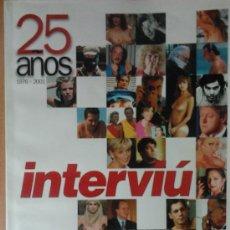 Coleccionismo de Revista Interviú: INTERVIÚ- 25 AÑOS- 1976-2001. Lote 32511517