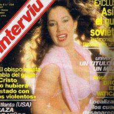 Coleccionismo de Revista Interviú: REVISTA INTERVIU - Nº 254 - EL GULAG SOVIÉTICO - EVA ROBIN - LAS GEISHAS DE LOS POBRES. Lote 33018568